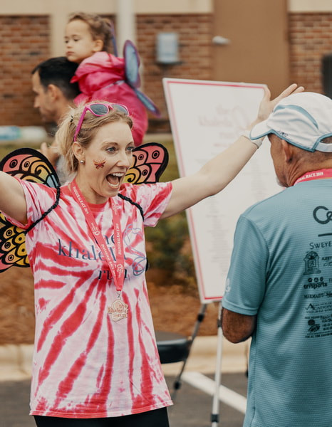 Picture The Khaleda Run 5k 10K Fun Run Butterfly Release Denver NC May